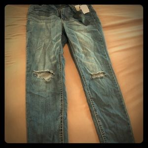 Denim - Size 8 Ripped Jeans - NWT!!